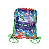 Новогодний подарок «Рюкзачок Зимний» – Люкс 800г (текстиль)
