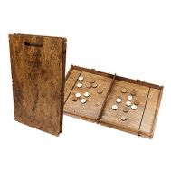 Новогодняя упаковка «Игра настольная Кикер» 700-800г(дерево)