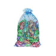 Новогодняя упаковка «Мешочек из органзы» 500-1000г(текстиль)