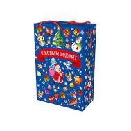 Новогодний подарок «Пенал Синий паттерн» – Люкс 2500г (мгк)