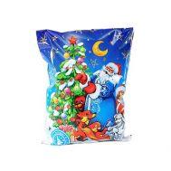 Новогодняя упаковка «Подарок от зайчика» 500г(худ. мешочек)