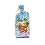 Новогодний подарок «Пушистый хвостик» – Люкс 1000г (худ. мешочек)