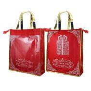 Новогодняя упаковка «Сумка С Новым Годом (с окном)» 1000-2500г(текстиль)