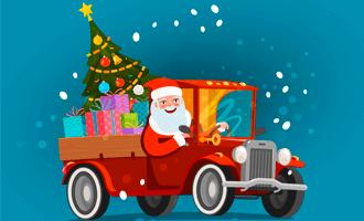 Доставка новогодних подарков
