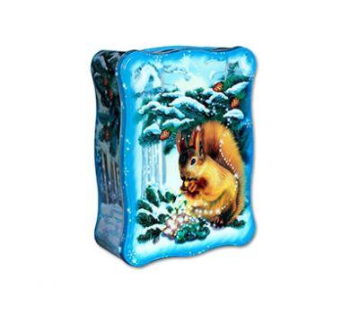 Новогодняя упаковка – Белочка (жесть) 2000г.