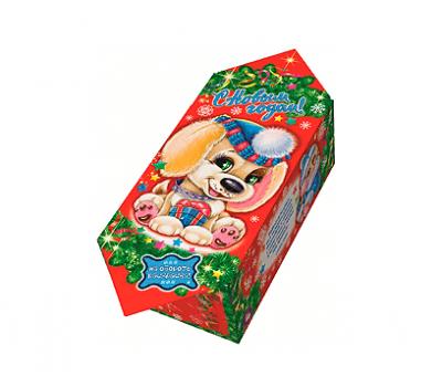 Новогодняя упаковка – Конфета Щенок 300г.
