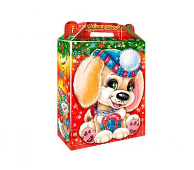 Новогодняя упаковка – Подарок Лапуля 800-1000г.