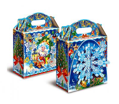 Новогодняя упаковка – Снежинка 1000-1200г.