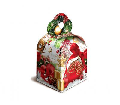 Новогодний подарок – Кубик новогодний (картон) 800г – Хит