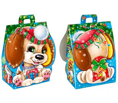 Новогодний подарок детям из конфет Малыш Тим – Топ 500г. (картон)