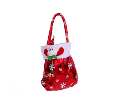 Новогодний подарок – Рубиновый мешочек (текстиль) 800г – Хит