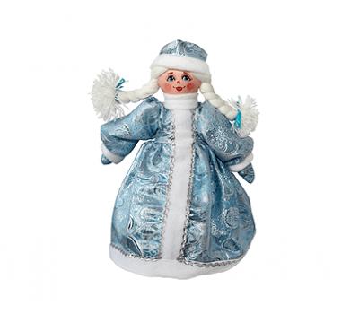Новогодний подарок – Снегурочка (текстиль) 800г – Топ