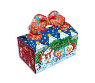 Новогодний подарок – Снежки (картон) 500г – Топ