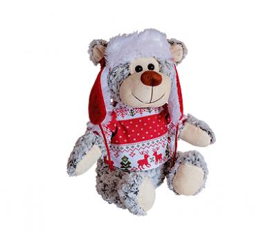 Новогодний подарок – Снежок (текстиль) 1200г – Люкс
