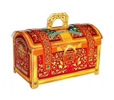 Новогодний подарок – Сундук красный (МГК) 2000г – Люкс