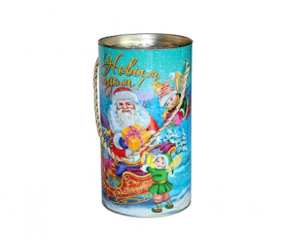 Новогодний подарок – Золотые Эльфы (туба) 800г – Топ