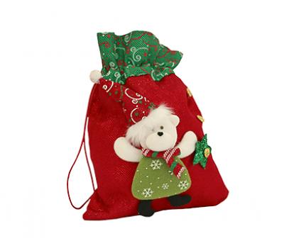 Новогодний подарок – Звездный мешочек (текстиль) 800г – Топ