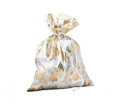 Мешочек Золотой, текстиль 800г Хит