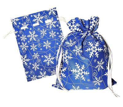 Мешочек Снежный синий, текстиль 1000г Вип