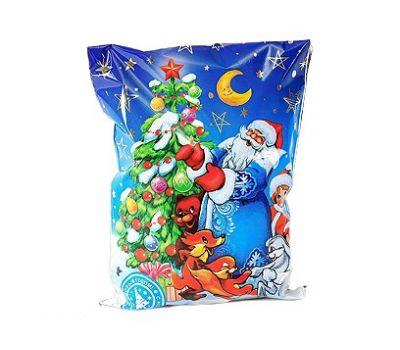 Новогодний подарок «Новогодний подарок от зайчика» – Идеал 500г (худ. мешочек)