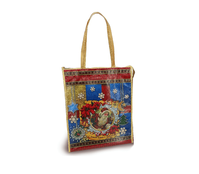 Сумочка Рождество, текстиль 1000г Люкс