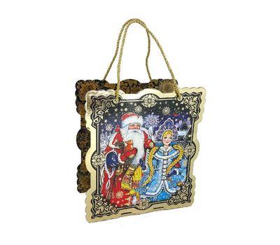 Новогодний подарок «Коробка Дед Мороз и Снегурочка» – Престиж 800г (мгк)