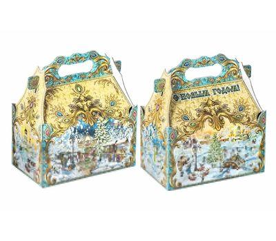 Новогодний подарок «Ларец Ретро-карусель» – Престиж 1000г (мгк)