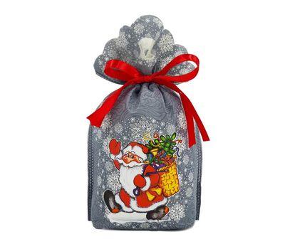 Новогодний подарок «Мешочек Морозушко» – Вип 700г (текстиль)