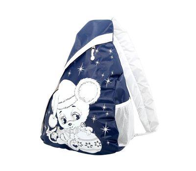 Новогодний подарок «Рюкзак Мышонок (на одно плечо)» – Престиж 1500г (текстиль)