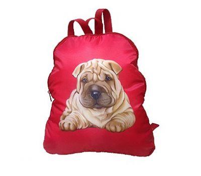 Новогодний подарок «Рюкзак Шарпей» – Престиж 2500г (текстиль)