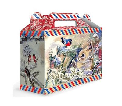Новогодний подарок «Снежок» – Престиж 500г (картон)