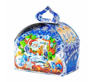 Новогодний подарок «Сундучок Серебристый» – Вип 700г (картон)