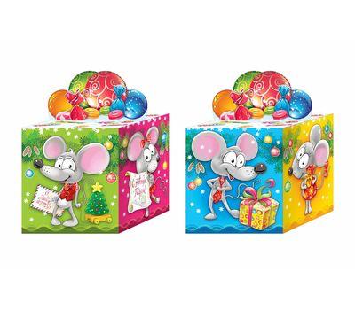 Новогодняя упаковка «Кубик Символ» 300г