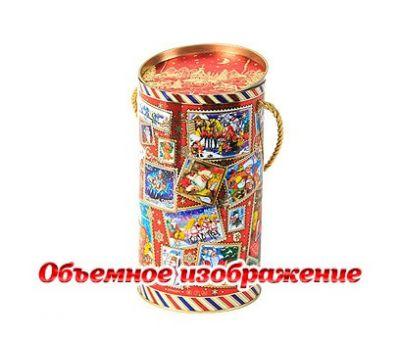 Новогодняя упаковка «Туба Посылка» 800-1000г