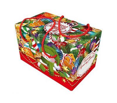 Новогодний подарок «Посылка Елочные игрушки» – Магический 1000г (мгк)
