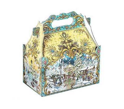 Новогодний подарок «Ларец Ретро-карусель» – Волшебный 1200г (мгк)