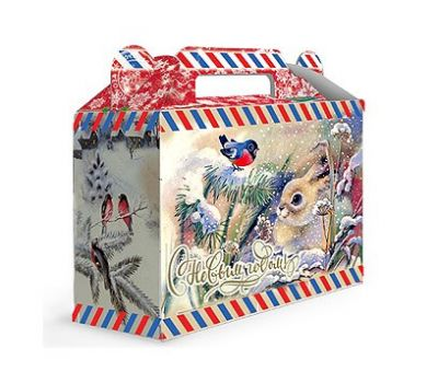 Новогодняя упаковка «Подарочек Снежок» 500г