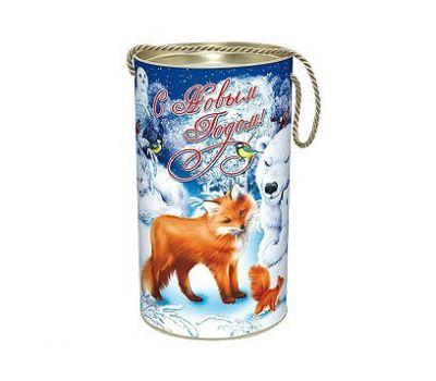 Новогодняя упаковка «Полярные звери» 800-1000г (туба)